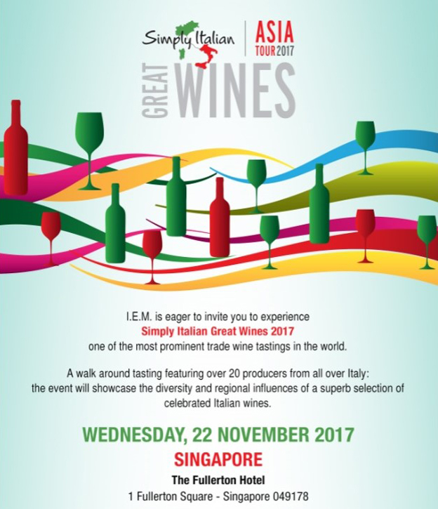 Simple Italian Great Wines 2017 Banner